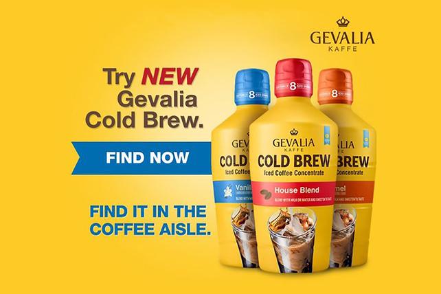 GEVALIA Cold Brew Canadian Affogato