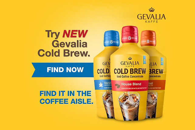 GEVALIA Root Beer & Vanilla Coffee Float
